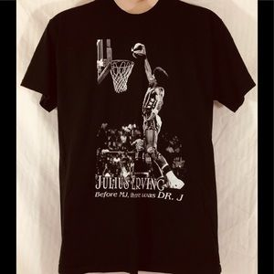 Julius Erving before MJ there was Dr J T-shirt XL